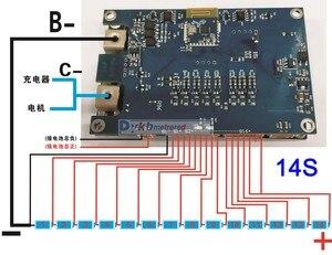 Image 5 - 5S do 16S inteligentny Bluetooth 40A 80A 100A 150A akumulator litowo jonowy Lifepo4 LTO bateria litowa płyta ochronna BMS równowagi 6S 7S 8S 10S 12S 14S