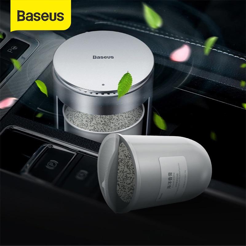 Baseus Starke Aroma Minen für Auto Lufterfrischer Ergänzung Tasse Halter Parfüm langlebige Köln und Meer Geruch