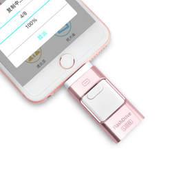 OTG Usb флеш-накопитель 8 ГБ 16 ГБ 32 ГБ 64 ГБ флеш-накопитель HD Внешняя память палка для iPhone 7, 7plus 6 6s Plus 5s Ipad, флеш-накопитель