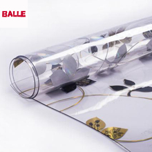 BALLE 1,5 мм прозрачная Прочная ПВХ скатерть, пластиковый коврик, прозрачная скатерть, мягкое стекло для прямоугольного стола, обеденного стола