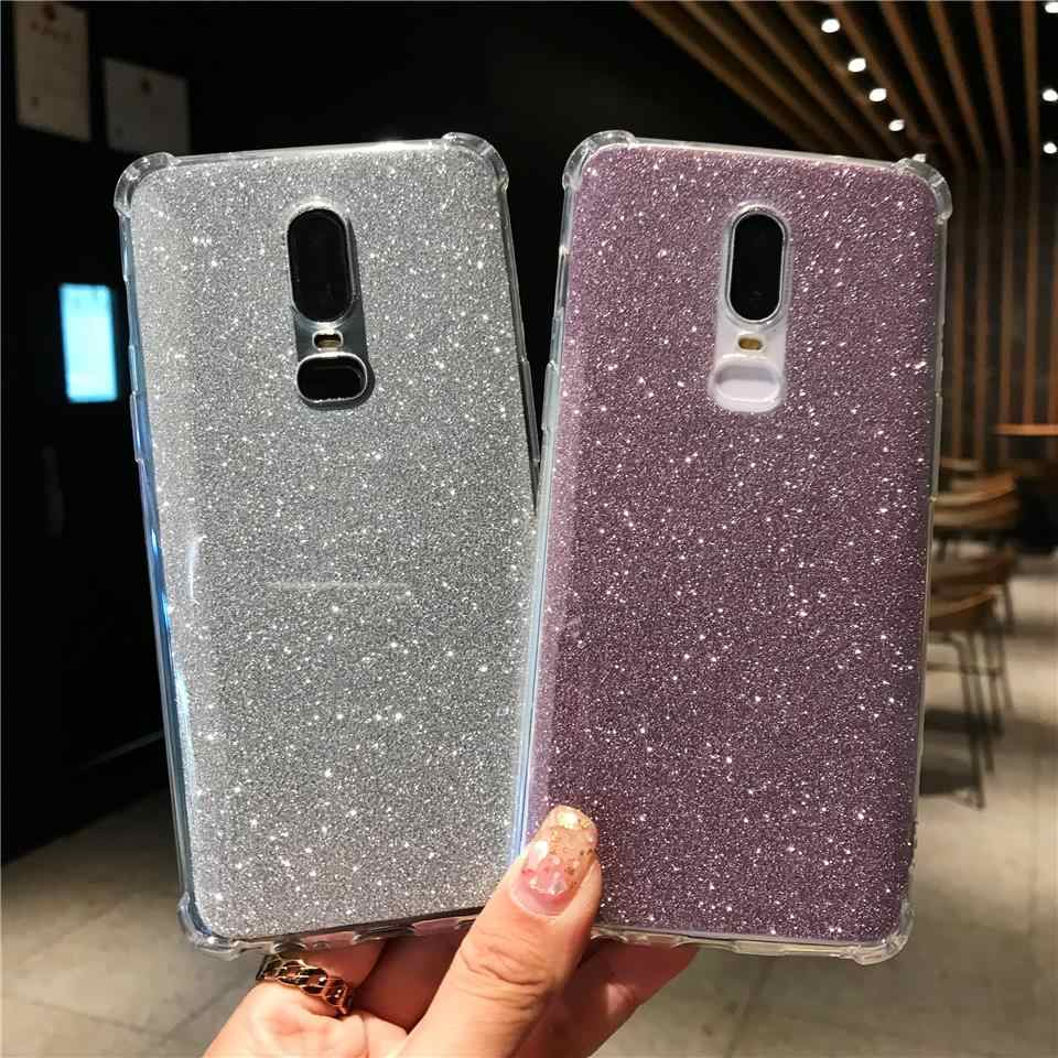 Brokat AntiKnock, silikonowy pokrowiec na OnePlus 6 5T Meizu M5 M6 uwaga M5S M6S M6T 15 Lite Nokia 5 6 2018 7 Plus 8 okładka etui na telefony