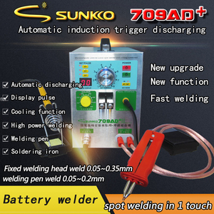 Image 5 - SUNKKO 709AD 709AD + ใหม่ high power นิกเกิลเข็มขัดเครื่องเชื่อมจุดไฟแบตเตอรี่ 18650 แบตเตอรี่เชื่อม