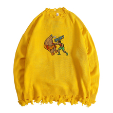 Pullover Knitted Sweaters Harajuku Casual Knitwear Jumper To