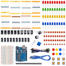 Starter Kit for Ar duino with Resistor /LED / Capacitor / Jumper Wires / Breadboard resistor Kit