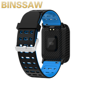 Image 2 - BINSSAW 2020 New T6 Smart Watch Fitness Tracke Band IP68 Waterproof Smart watch Men Women Clock for iPhone IOS  Android Phone