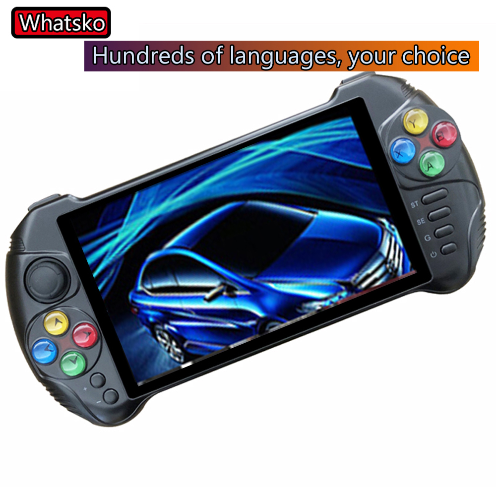 Powkiddy X15 andriod portable game console 5.5 inch screen Retro Game Machine quad core 2G fit for RAM 32G ROM handheld console image