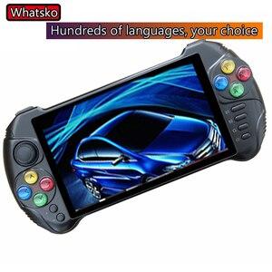 Powkiddy X15 andriod портативная игровая консоль 5,5 дюймов экран Ретро игровой автомат четырехъядерный 2G подходит для RAM 32G ROM портативная консоль