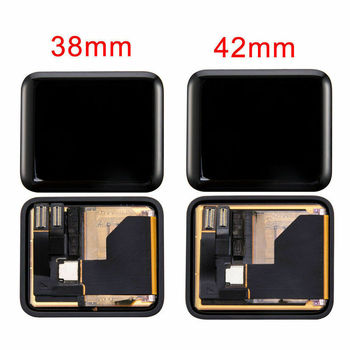Yqwsyxl  for Apple Watch iWatch 38mm 42mm (1 Gen) LCD Display Screen Assembly  Repair Parts