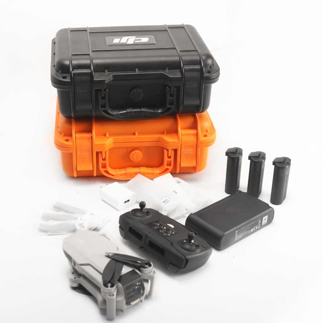 Waterproof Safety Box Explosion-proof Portable Carrying Case For DJI Mavic Mini Drone - Orange
