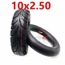 Alta qualidade 10x2.50 pneu externo interno 10*2.50 pneu de roda pneumática para scooter elétrico acessórios