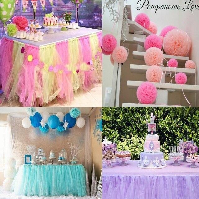 Tiulowa rolka 25 jardów 15cm Baby Shower TUTU Baby Show dekoracje ślubne Organza DIY Tutu spódnica rzemiosło materiały urodzinowe