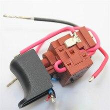 Interruptor de disparo de encendido para taladro eléctrico, 15RA, 24V, CC, piezas de reparación usadas, Original, para EGA 1115A
