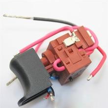 Voor EGA 1115A Originele voor DEFOND Power Trigger Switch 15RA 24V DC voor Elektrische Boor Reparatie Onderdelen Gebruikt