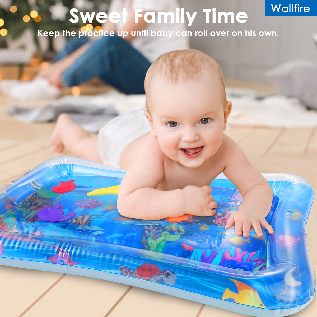 Baby Kids Water Play Mat Toys Inflatable thicken PVC infant Tummy Time  Playmat Toddler Activity Play Center water mat for babies|Play Mats| -  AliExpress