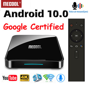 Image 2 - MECOOL KM9 פרו חכם טלוויזיה תיבת אנדרואיד 10 2GB 16GB Google מוסמך Androidtv אנדרואיד 9.0 טלוויזיה תיבת 4K KM3 טרקטורונים 4GB 128GB Media Player
