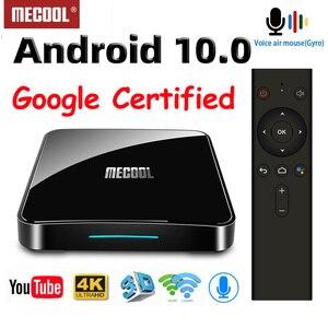 Image 2 - MECOOL KM9 Pro Smart TV Box Android 10 2GB 16GB certyfikat Google Android Android 9.0 TV Box 4K KM3 ATV 4GB 128GB odtwarzacz multimedialny