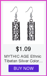MYTHIC AGE Tibetan Silver Color Carved Flower Vintage Ethnic Drop Dangle Earrings Retail Jewelry Jewellery Gift For Women Girls 8
