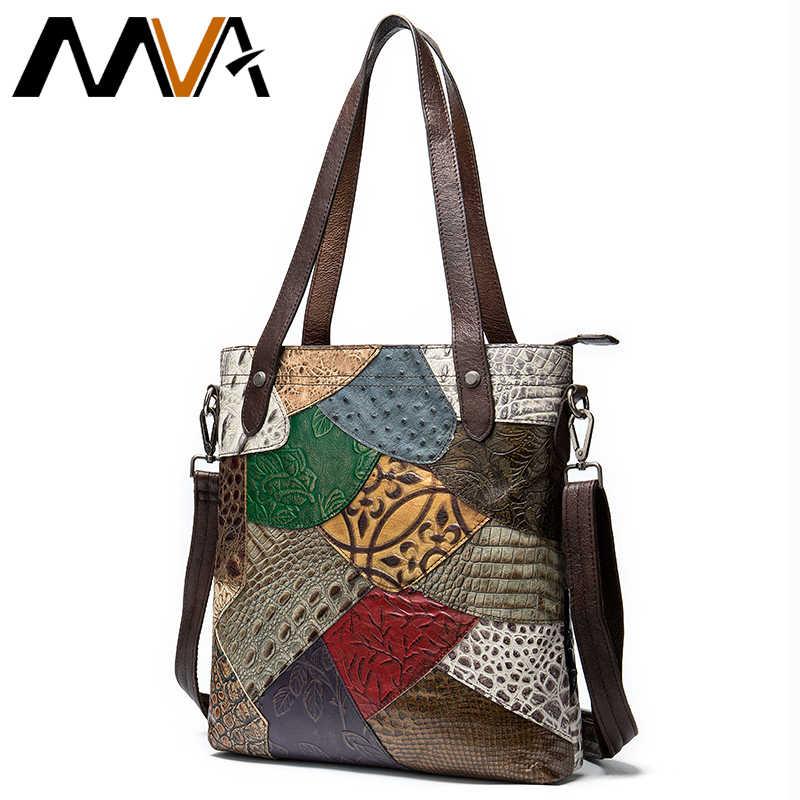 MVA женская сумка, женская сумка из натуральной кожи, сумки на плечо, Женская Повседневная сумка, роскошные сумки, женские сумки, дизайнерская богемная сумка через плечо
