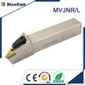 Nicecutt MVJNR токарный резак токарный инструмент внешний токарный инструмент держатель MVJNR2525M16 MVJNL2525M16 для токарной вставки VNMG Бесплатная достав...
