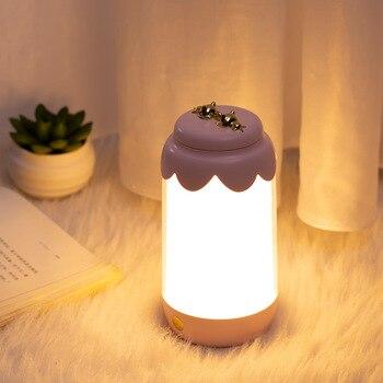 Luz nocturna de regalo, iluminación portátil de ambiente exterior, luces nocturnas para niños, lámpara de noche, lámpara de color cambiante, Luces de decoración de dormitorio de marvel