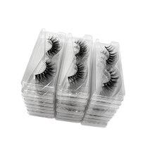 Wholesale Eyelashes Package Mink Eyelashes Set Bulk Lashes Fluffy Dramatic Fake Eyelashes Natural 3d Mink Lashes Pack