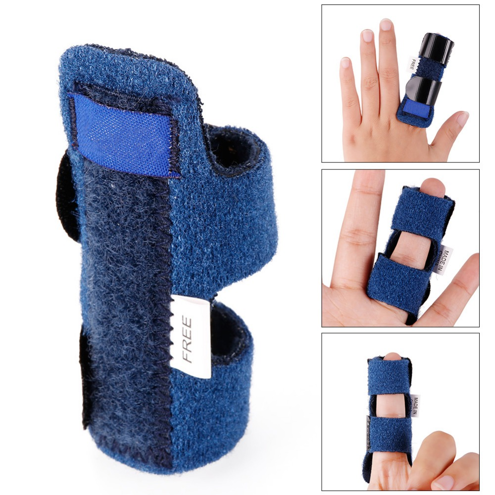 1 Pcs Adjustable Hand Support Fix Injury Aid Tool Finger Recovery Bandage Finger Splint Joints Fractures Protection High Quality
