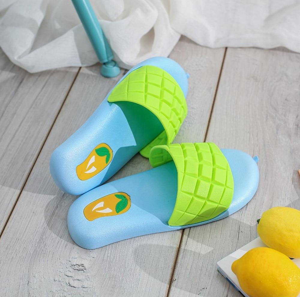 Cartoon Summer Lady Sandals Home Slippers Bathroom Slippers Cute Slippers Flip Flops Beach Shoes Slide Shoes Women's Slippers