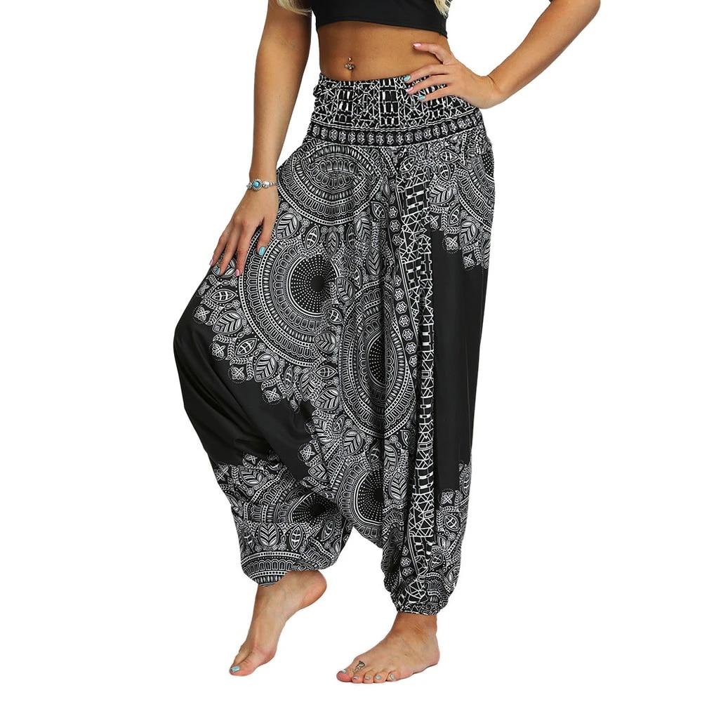 Black Parachute Pants Women