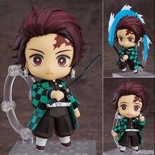 Kimetsu não yaiba tanjirou figura de ação 1193 # pvc brinquedo anime demon slayer tanjirou estatueta bonito brinquedos 100mm