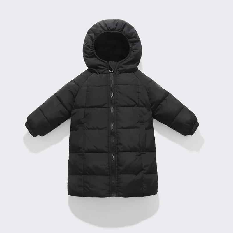 Children's Down Jacket Long Baby Children's Clothing Boys And Girls Winter Coat Tops Kids Down Jacket  Kids Winter Jacket