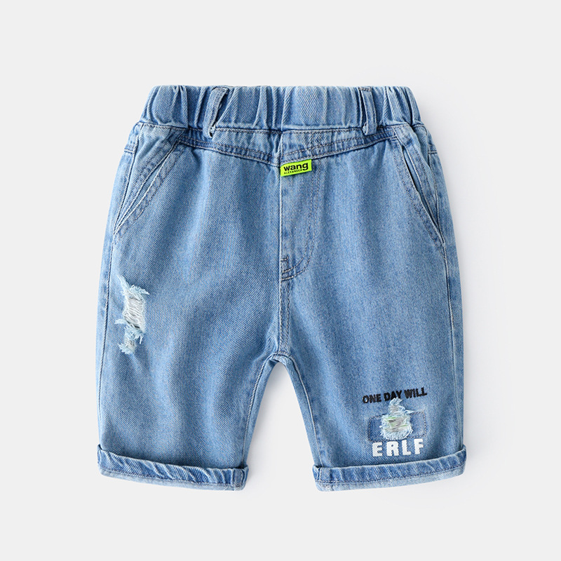 Summer Jeans Baby Boy Korean Baby Boy Shorts Casual Jeans For Boys Damen Jeans Hose Baby Boy Clothes 1