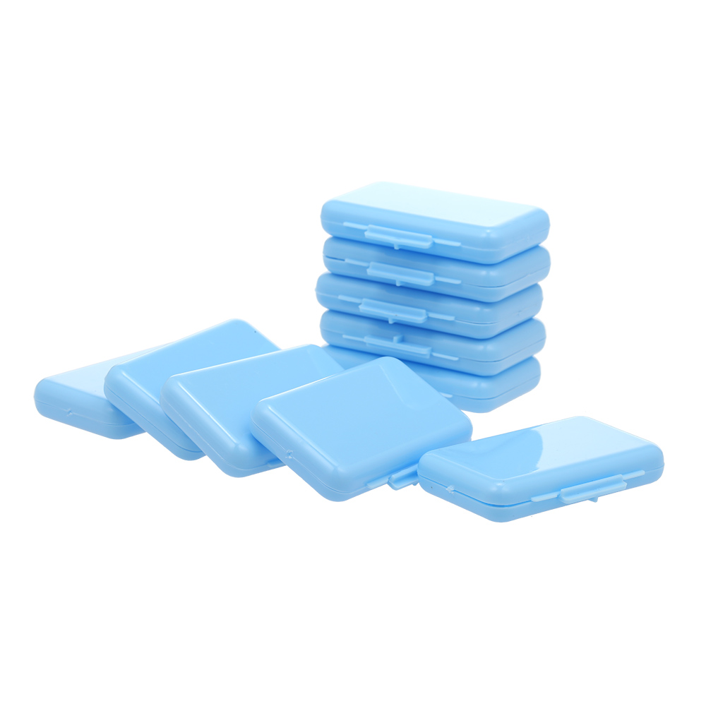 10PCS Teeth Wax Kit Pain Relief for Orthodontic Braces Wearers 1 Box of 5 Strips Dental Wax for Oral Care 4