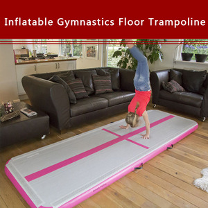 Image 5 - 6pcs/set 3M AirTrack Gymnastics Wear resistant inflatable gym mat tumbling Floor gym Trampoline training mat air track with Pump
