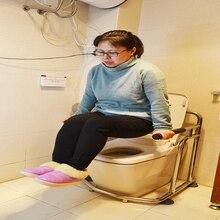 Медицинский Профессиональный Туалет Противоскользящий складной поручень нагрузка 100 кг из нержавеющей стали для пожилых беременных женщин