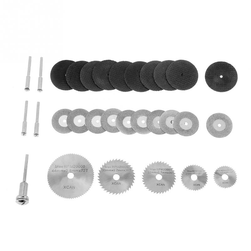 HSS Diamond Circular S Cutting Discs And Mandrels For Tools 30pcs