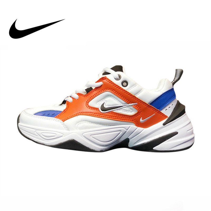 Original Authentic Nike <font><b>M2K</b></font> Tekno Men's Running Shoes Sport Outdoor Comfortable Breathable Sneakers 2019 New Arrival AAO3108-101 image