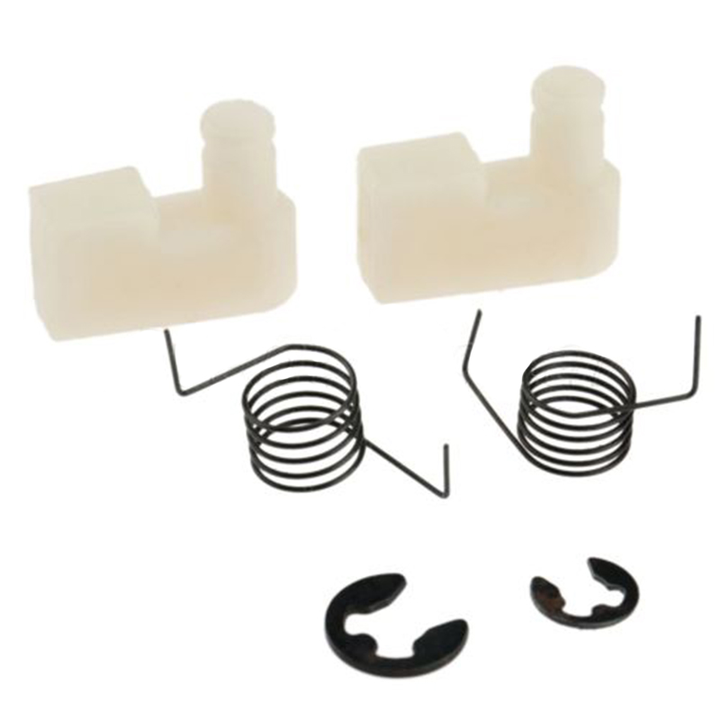 6pcs Starter Pawl Spring Clips Kit For Chinese Chainsaw 43CC 45CC 4500 5200 5800