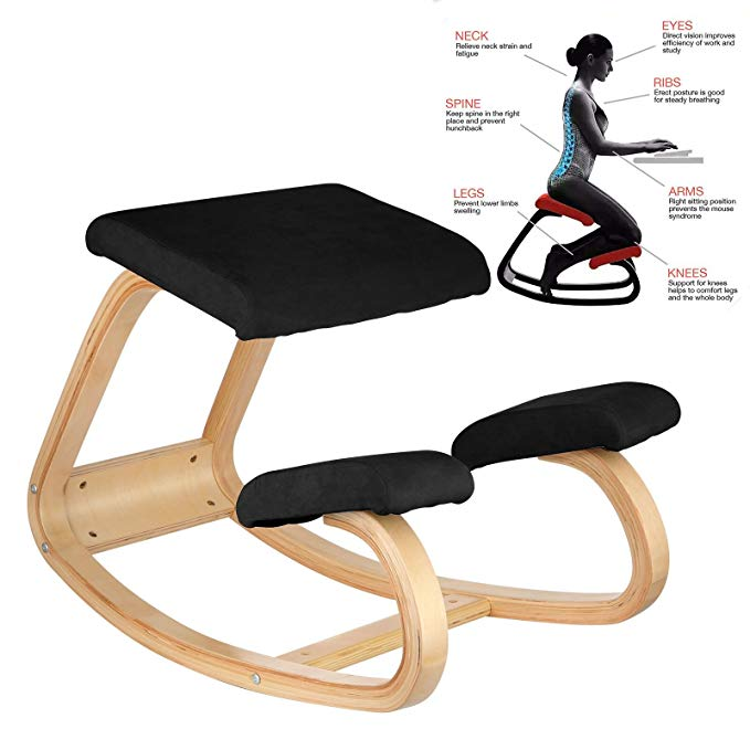Vevor Ergonomic Kneeling Chair Heavy Duty Kneeling Stool Office Chair Home Computer Posture Chair Design|Office Chairs|   - AliExpress
