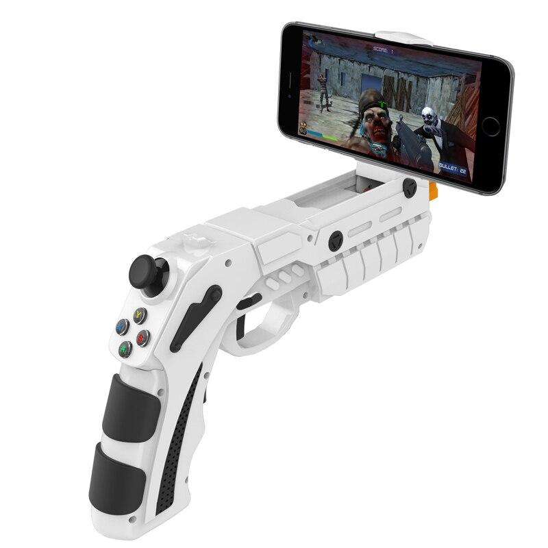 IPEGA PG-9082 Control Para Celular Arma controlador AR móvil Gaming Para teléfono inteligente Bluetooth controlador Para teléfono Android OSIDEN DC 12 V-24 V inalámbrico RF panel de atenuador de luz RGB control remoto 18A RGB controlador para 3528 5050 RGB tira de luz LED