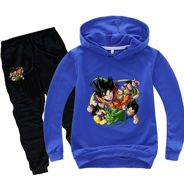 Anime Dragon Ball Sweat Suit 5