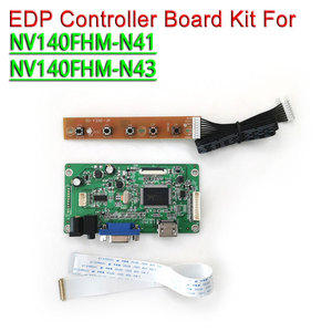 "Voor NV140FHM-N41 NV140FHM-N43 Hdmi Vga Monitor Controller Drive Board Laptop Lcd-scherm 1920*1080 14 ""Edp 30Pins wled Diy Kit(China)"