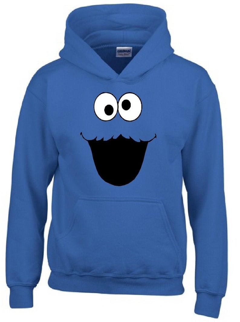 Adult Unisex Cookie Monster Hoodie
