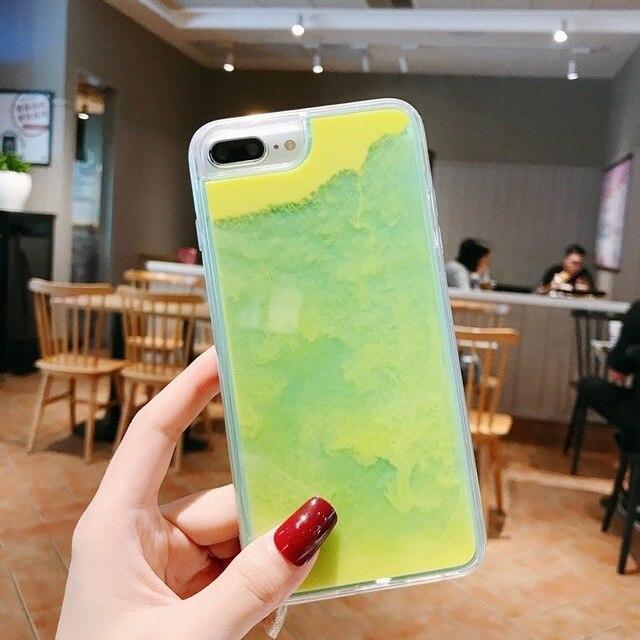 3D Cartoon Pink Quicksand Unicorn Soft Silicone Liquid Stars Case For Iphone 8 Plus 7 6S 6 Plus 5 SE XS 11 Pro Max XR Phone Case