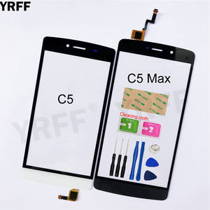 Touchscreen Digitizer Sensor Glass-Panel Replacement for Tp-Link Neffos C5/C5 Max