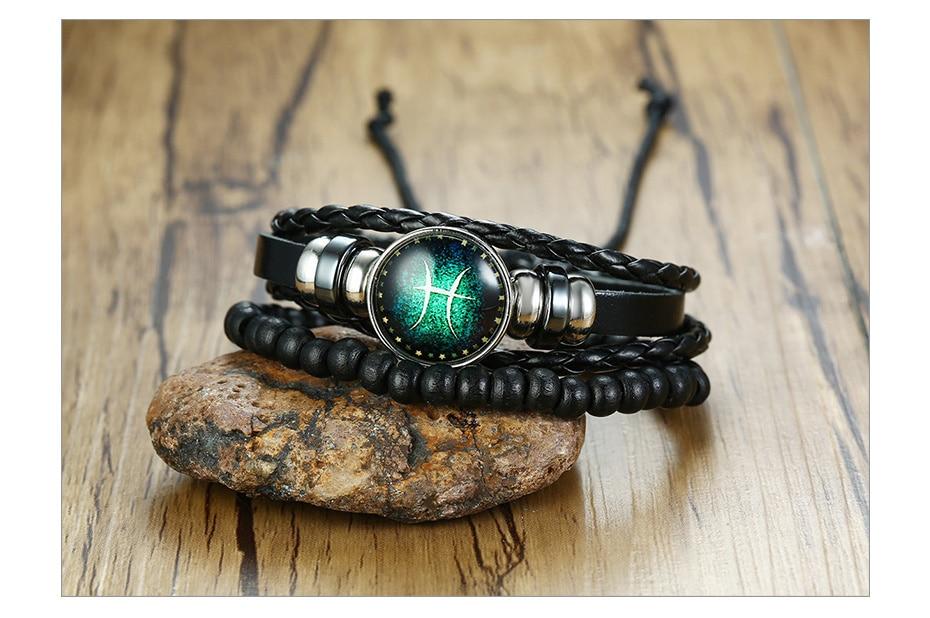 H315011ed92884e7c8f34237bf4a93ee3L - Zodiac Fashion Bracelet