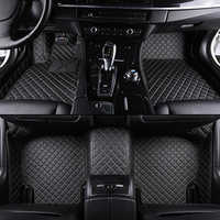 Custom car floor mats for all 5-seat models for toyota bmw Mercedes audi kia for all models Car accessories