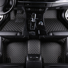 Custom car floor mats for all 7-seat models for toyota bmw Mercedes audi kia for all models Car accessories cheap XWSN Artificial leather Natural Fiber Leather Mat Mats Carpets Waterproof and dustproof Protect the floor for bmw f10 f01 f25 f30 f45 x1 x3 f25 x5 f15 e30 e34 e60 e65 e70 e83