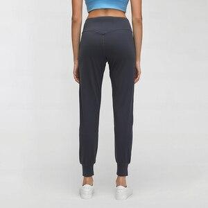Image 3 - SHINBENE jogging en tissu effet nu et ample de Sport, beurre doux et élastique, avec poche à deux côtés