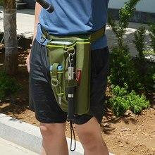Держатель для снастей, ножная сумка, многофункциональная Наплечная Сумка для рыбалки, чехол для приманки, нейлоновый Прочный чехол для переноски на талии