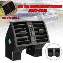 El centro de la consola trasera AC aire salida para VW Touran 2003-2015 Caddy 2004-2015 OEM 1T0819203